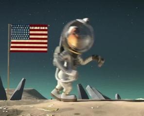 Kosmiczna jazda. Hau hau mamy problem 2D