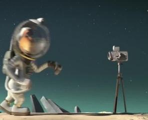 Kosmiczna jazda. Hau hau mamy problem 3D