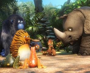 Kumple z dżungli 3D