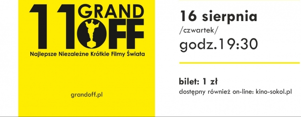 16.08 11. Grand Off - Festiwal