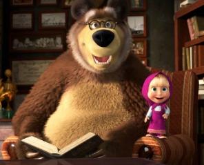 Masza i Niedźwiedź: Nowe przygody