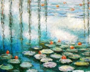 Nenufary Moneta – cuda z wody i światła - WYSTAWA NA EKRANIE